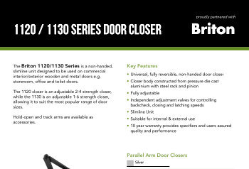 Briton 1120/1130 Series Door Closer