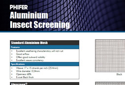 Phifer Aluminium Insect Screening