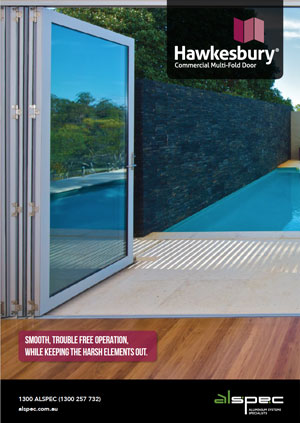 Hawkesbury® Commercial Multi-Fold Door