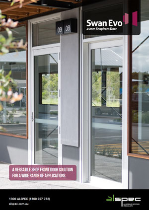 Swan Evo™ 45mm Commercial Shopfront Door