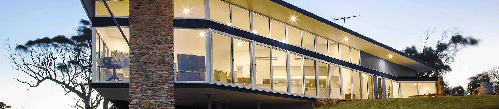 Storefront Windows And Doors ecoframeplus 101.6mm centre pocket double glazed framing