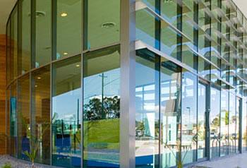 Glazing Framing Systems : Commercial framing aluminium framing
