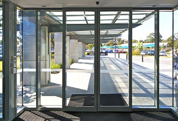 Torrens 45mm Commercial Shopfront Door