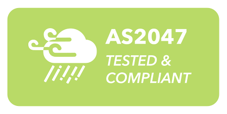 AS2047 - Tested and Compliant